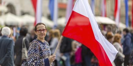 פולין -דגל